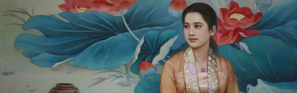 The Art of Zhen Shan Ren visas i Linköping 26 maj – 10 juni