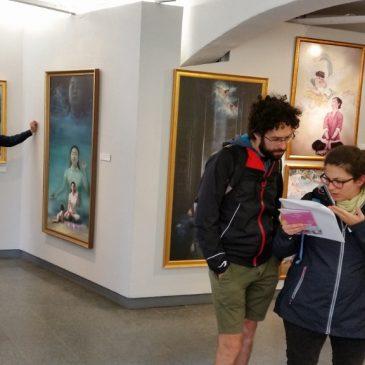 Bilder från utställningen i Stockholm